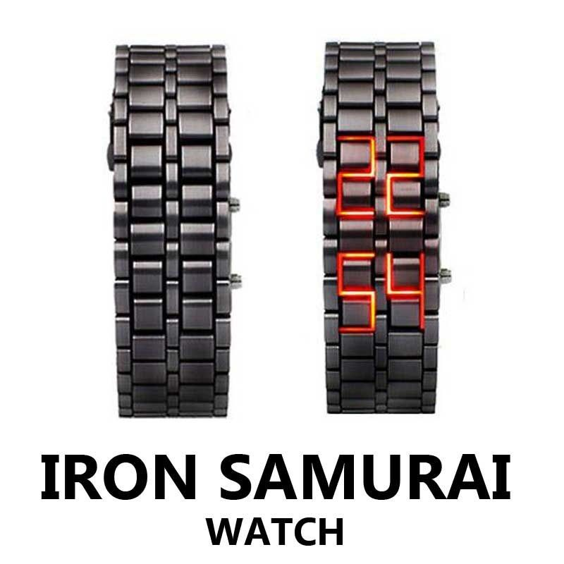 Reloj Led Iron Lava Samurai