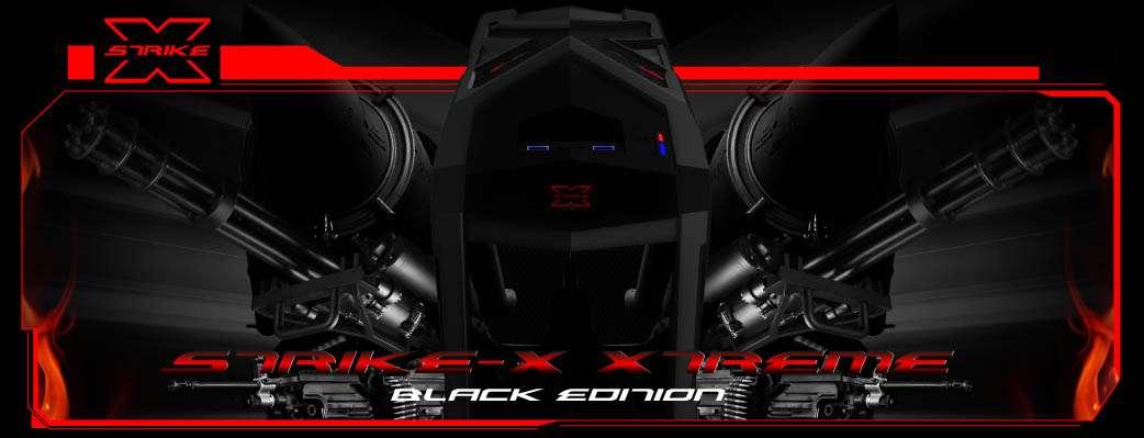 Gabinete AeroCool Strike-X Xtreme Black - USB 3.0