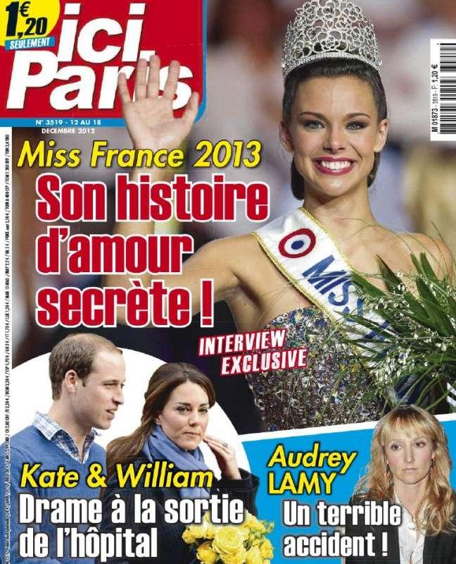 Ici Paris N°3519 du 12 au 18 Décembre 2012