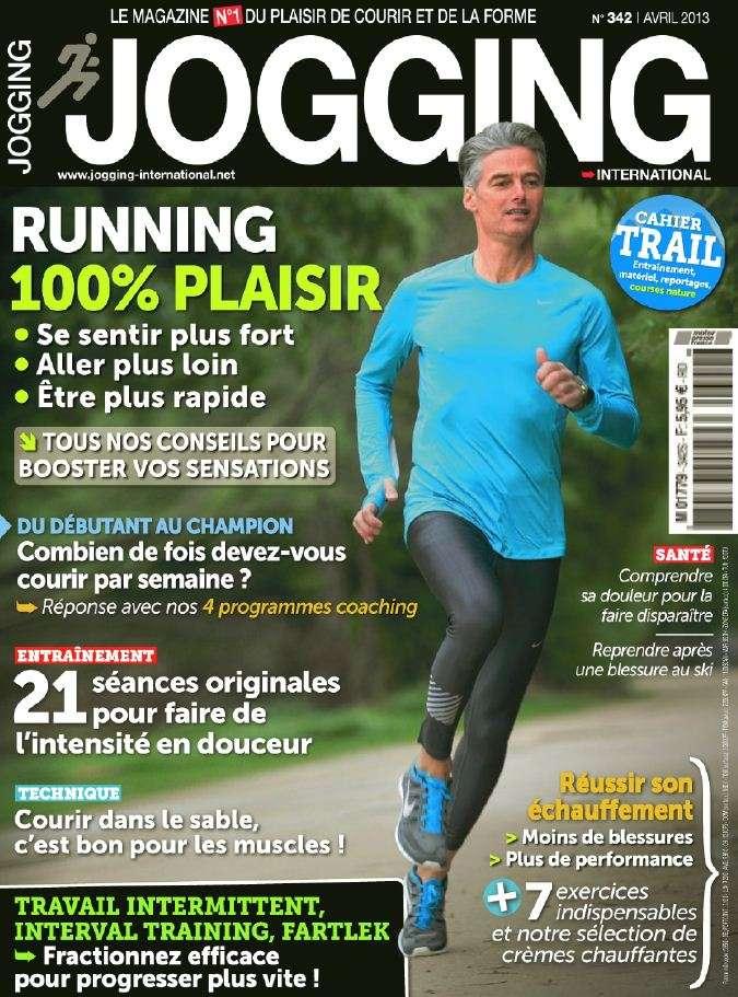Jogging International N°342 Avril 2013