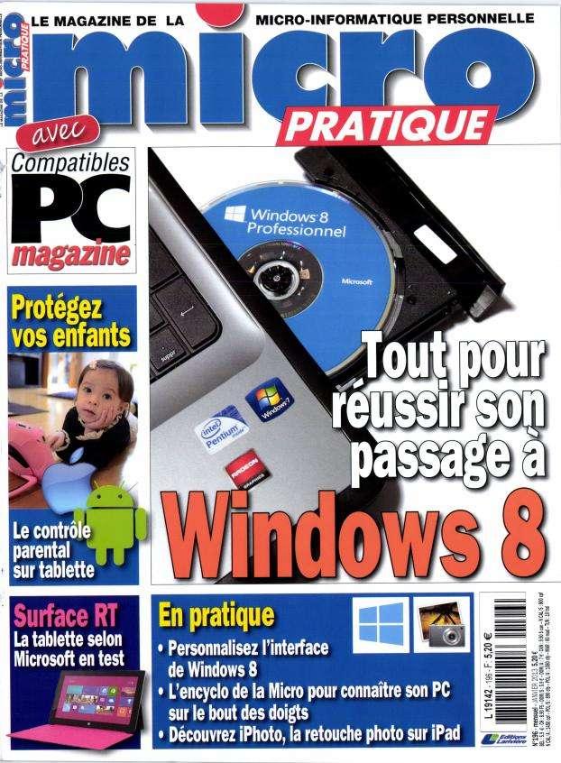 Micro Pratique N°196 Janvier 2013