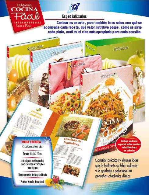 El chef en casa cocina f cil internacional paso a paso 5 for Cocina paso a paso pdf