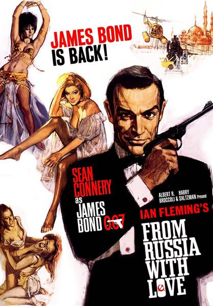 James Bond 007 From Russia With Love Poster