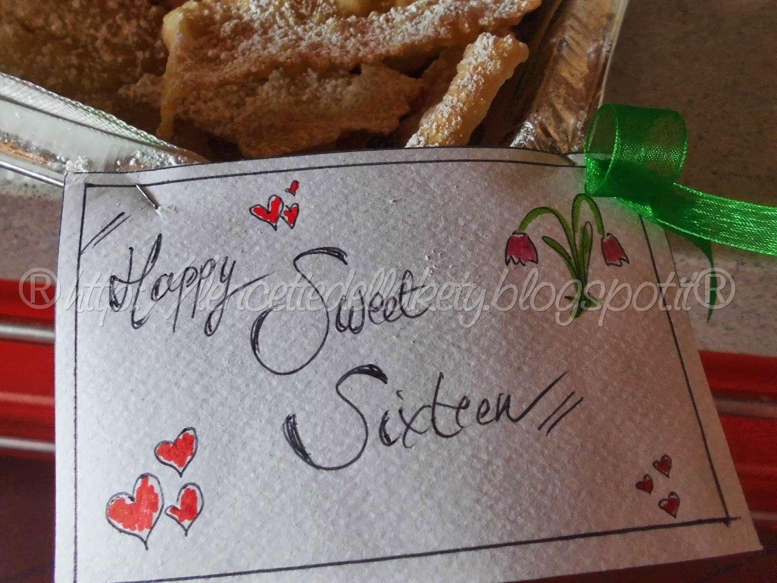 sweet , ma davvero sweet sixteen!