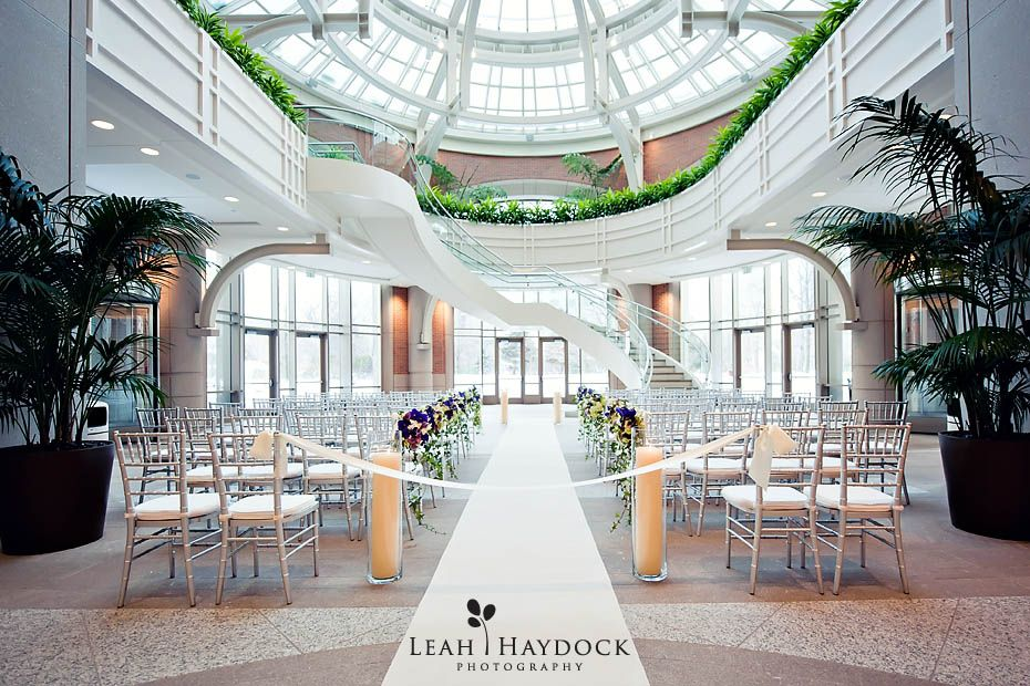 Winter wedding in boston seaport winter garden atrium for Outdoor wedding venues ma