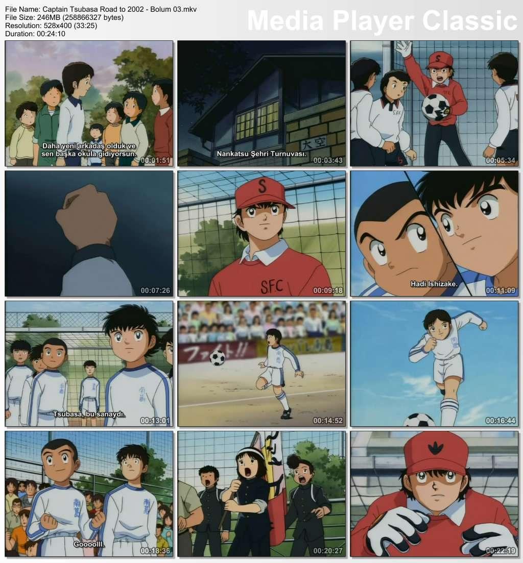 Kaptan Tsubasa Hedef 2002 - Tüm Bölümler DVDRip - Türkçe Altyazılı Tek Link indir