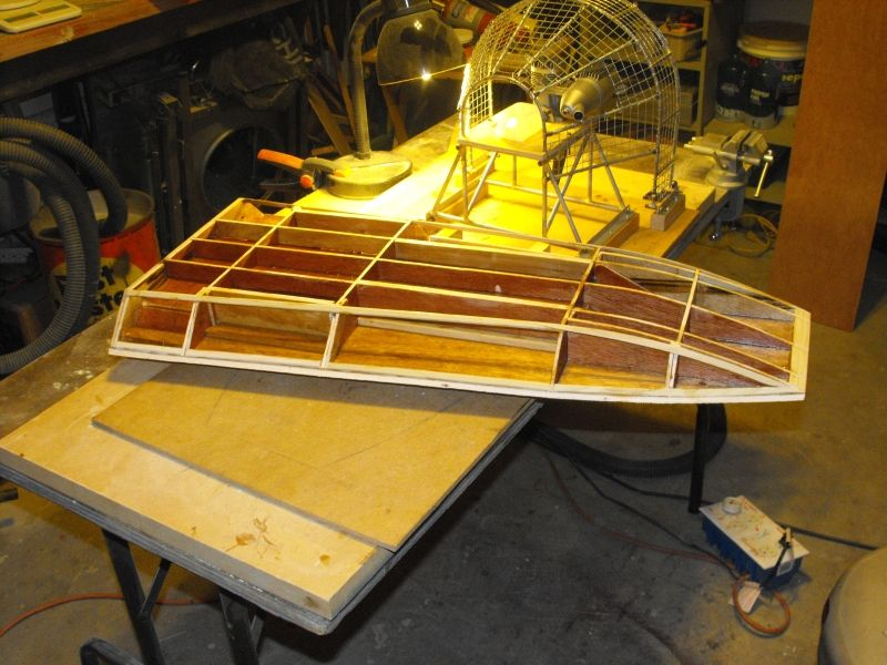 Scale+Rc+Airboat+Plans RC Airboat Hull Plans