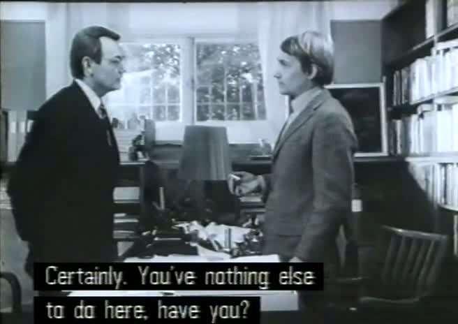vlcsnap00950 Susan Sontag   Duett för kannibaler AKA Duet for Cannibals (1969)